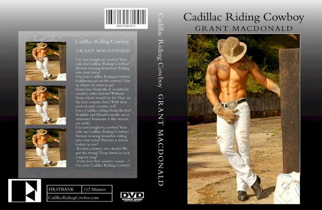 CADILLAC RIDING COWBOY DVD XXX